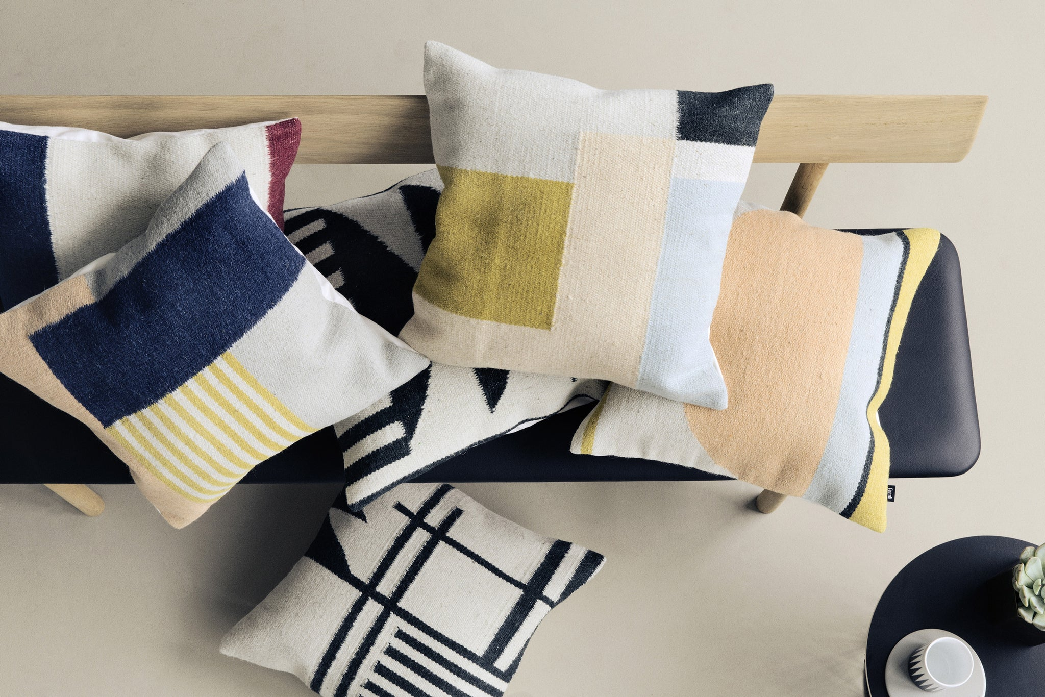 FERM LIVING Kelim Cushions from Someday Design