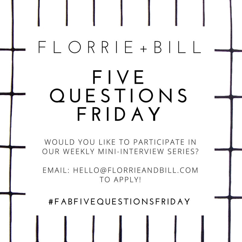 Friday and Bill Five Questions Friday