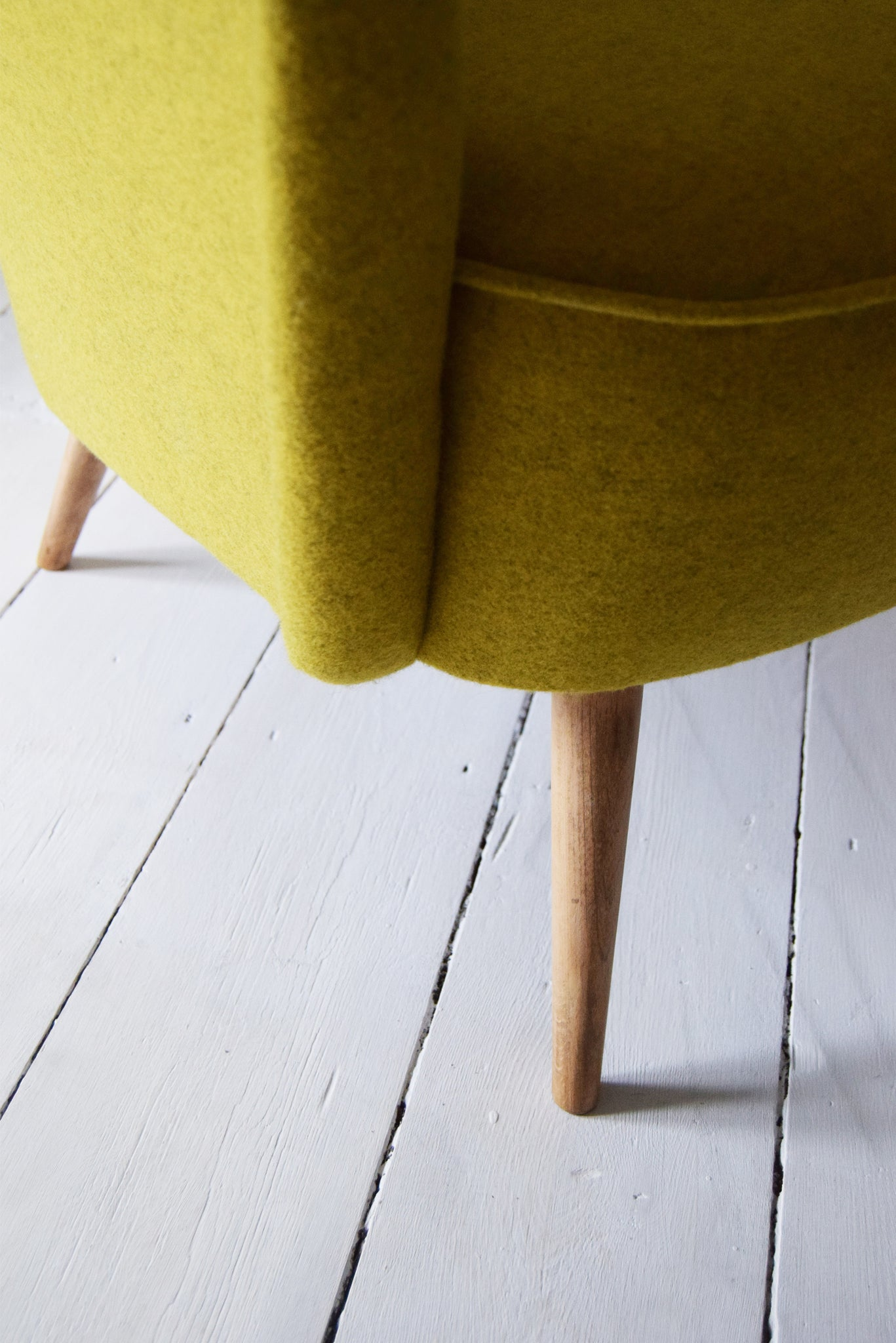 Yellow Armchair from Florrie + Bill
