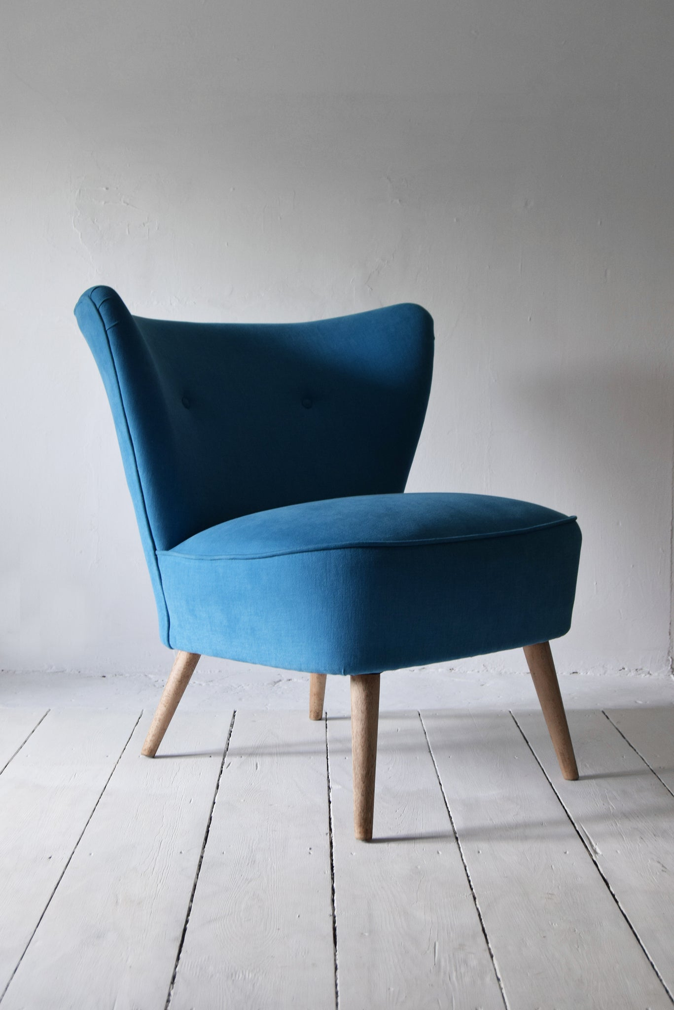 Blue Cocktail Chair