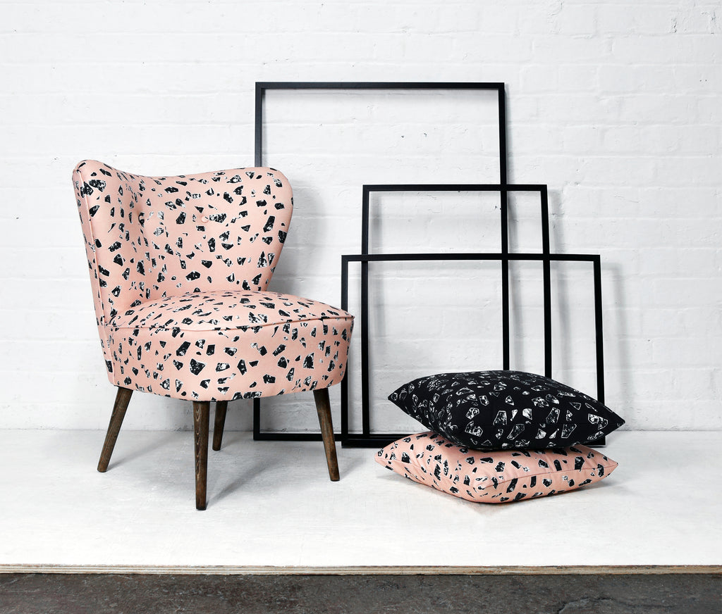 Florrie and Bill Fabric Collection Cocktail Chair