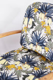 Vintage Ercol 334 Easy Chair restored by Florrie + Bill in Abigail Borg Botanical Fabric