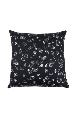 Florrie + Bill Chips Black Cushion