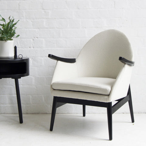 Vintage Cream Armchair
