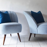 Scallop Back Cocktail Chair - Florrie + Bill