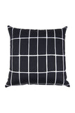 GLAZE Cushion - Black - Florrie + Bill