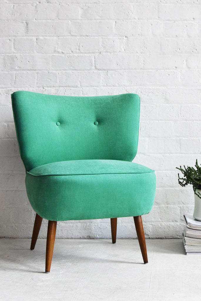 Good Green Cocktail Chair Green Vintage Cocktail Chair Florrie And Bill ...