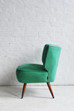 Green Cocktail Chair - Florrie + Bill