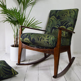 Florrie + Bill Retro Parker Knoll Rocking Chair in House of Hackney Palm Print
