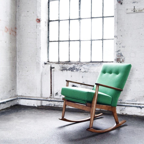 Retro Parker Knoll Rocking Chair