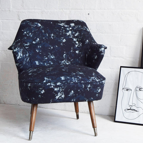 Vintage Chair - IMPRESSION Blue