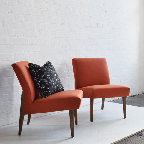 Orange 'Cintique' Chairs
