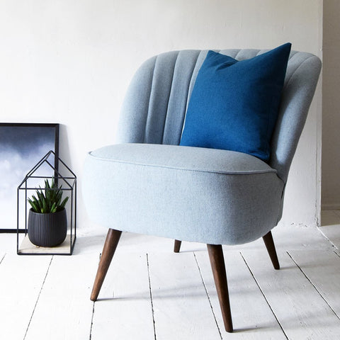 Scallop Back Cocktail Chair