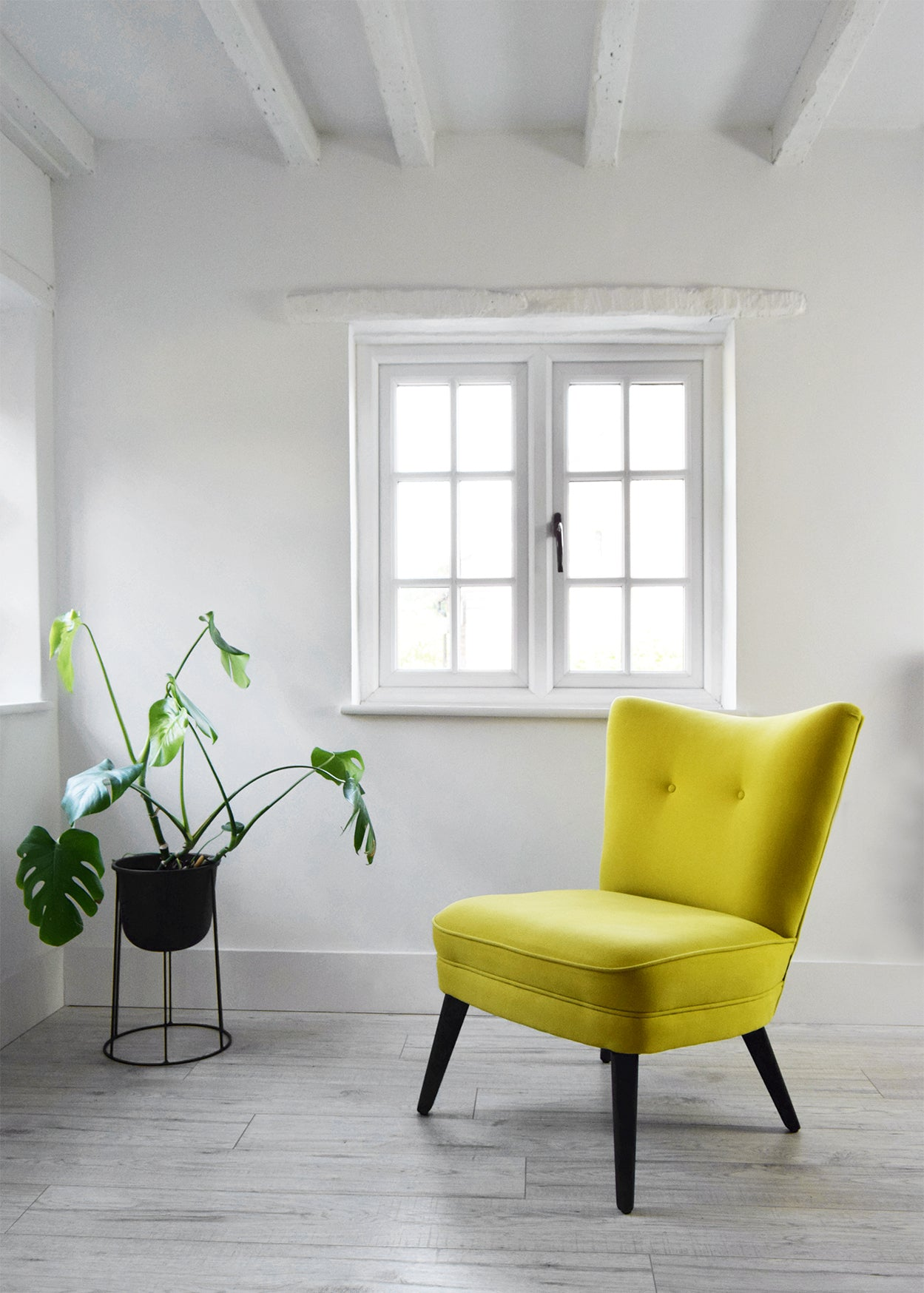 Yellow Vintage G Plan Cocktail Chair - Florrie + Bill
