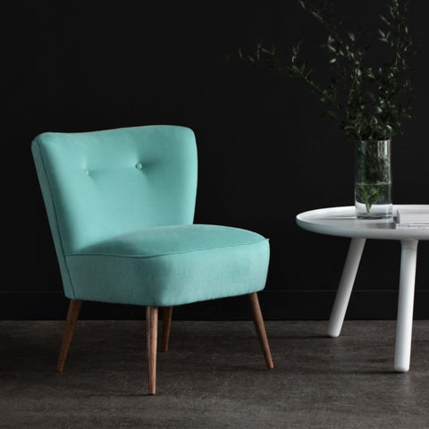 Vintage Cocktail Chair - Mint