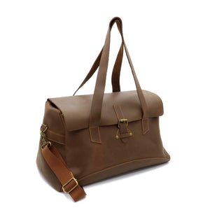 Terrain Leather Duffel Bag