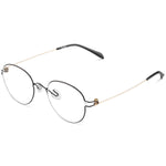 Potts Full Rim Metallic Round Frame With Prescription Lenses | Charm Optical
