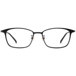 Cameron Full Rim Metallic Square Frame With Prescription Lenses
