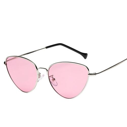 Emmy Full Rim Metallic Sunglasses With Prescription Lenses