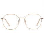 Nirva Round Full Rim Metallic Round Frame With Prescription Lenses