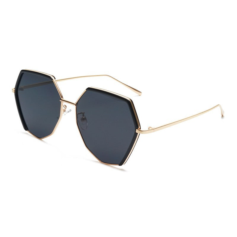 Jet Full Rim Metallic Sunglasses With Prescription Lenses