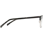 Debra Full Rim Metallic/Plastic Browline Frame With Prescription Lenses | Charm Optical
