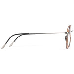 Vienna Windsor Titanium Round Frame With Prescription Lenses | Charm Optical