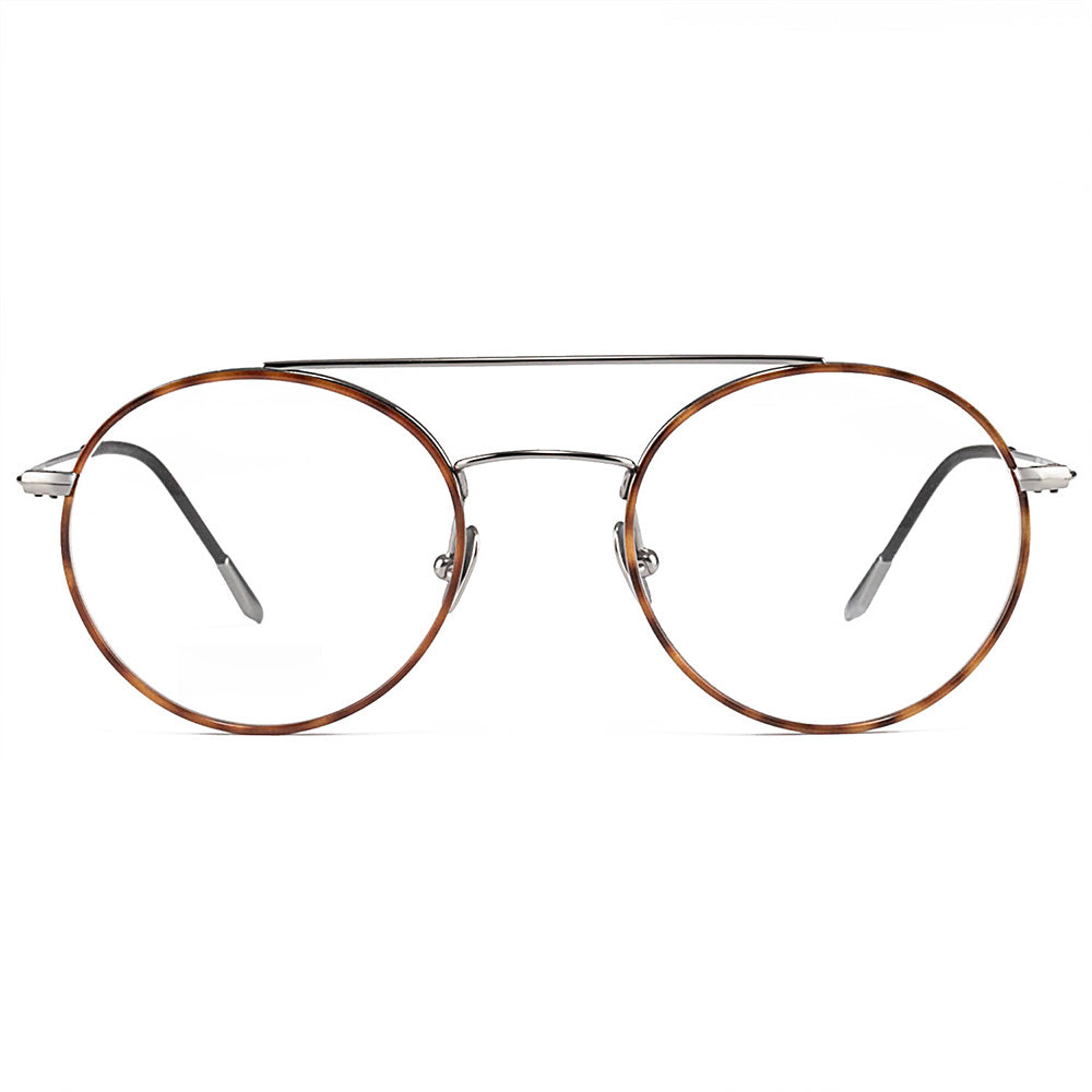 Vienna Windsor Titanium Round Frame With Prescription Lenses