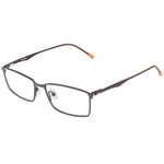 Andrew Full Rim Metallic Rectangle Frame With Prescription Lenses | Charm Optical