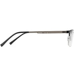 Joshua Half Rim Metallic Square Frame With Prescription Lenses | Charm Optical