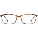 Raegan Full Rim Metallic/Plastic Square Frame With Prescription Lenses