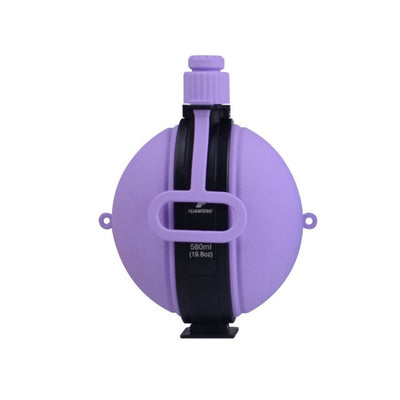 Foldable Compass Silicone Water Bottle