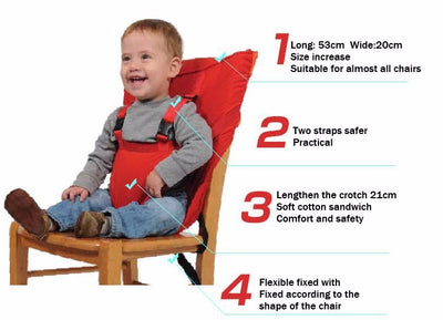 Easy Seat Portable High Chair Anytime You need It