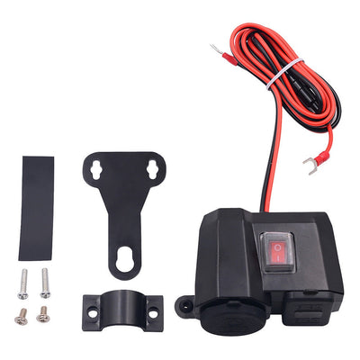 MULTIFUNCTION MOTORCYCLE CHARGER 12V