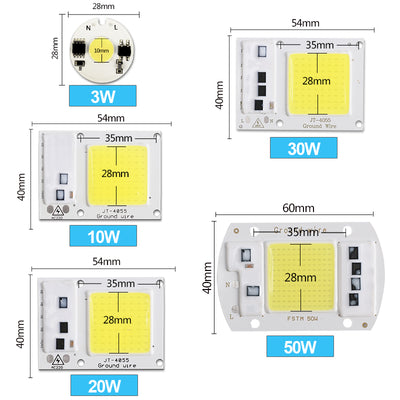 Smart IC Driver Cold Warm White LED