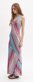 STRIPE HENRY MAXI DRESS