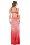 OMBRE DYE OPEN BACK MAXI DRESS
