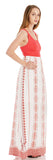 RENA RED OPEN BACK MAXI DRESS