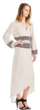 ANNA SURPLICE MAXI DRESS