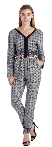 MARCIAN LONG SLEEVE JUMPSUIT