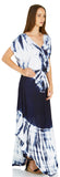 TIE DYE CREPE MAXI DRESS