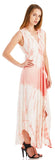 TIE DYE HIGH LOW HEM MAXI DRESS
