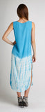DIP DYE SLEEVELESS DRESS