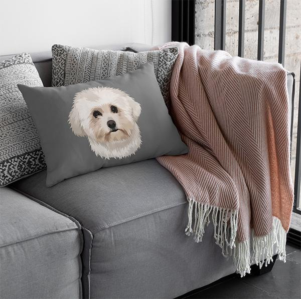 Custom Pet Pillow & Cover - Printy Paw