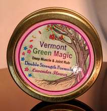 Load image into Gallery viewer, 250mg Double Strength Lavender Salve - Green Leaf Central
