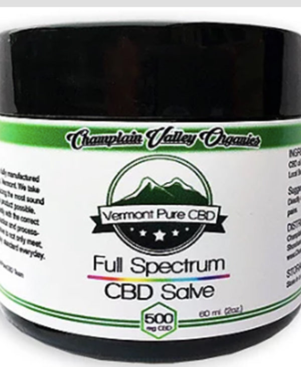 cbd salve topical for pain 500mg organic cbdistillery full spectrum