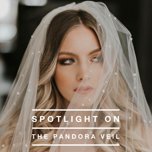 Pandora Pearl Beaded Veil at a&be MLPS