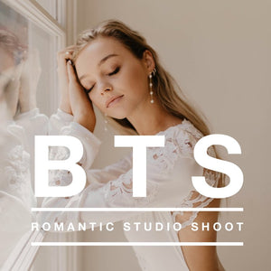 Behind the Scenes: Romantic Studio Shoot