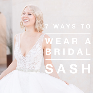 7 Ways to Style A Thin Bridal Belt