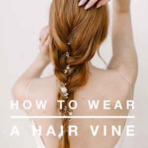 How to Wear a Hair Vine